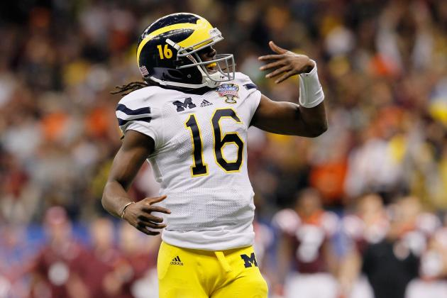 Denard Robinson: Open Letter to Michigan Wolverines QB Before Alabama Matchup