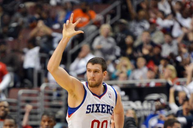 Can Spencer Hawes Be Successful at Power Forward in the 76ers Starting Lineup?