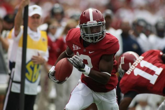 Alabama Football: T. J. Yeldon and Biggest X-Factors on Crimson Tide Offense
