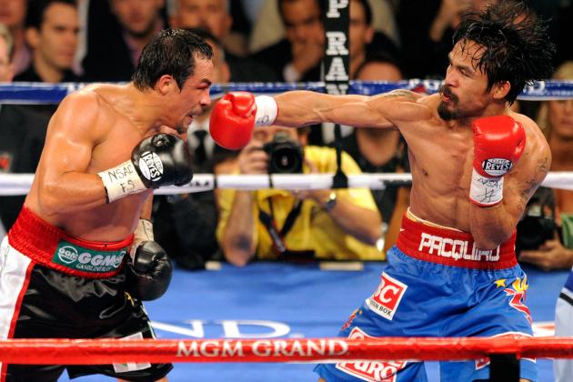 Report: Pacquiao Chooses Fourth Bout with Juan Manuel Marquez for Nov. 10