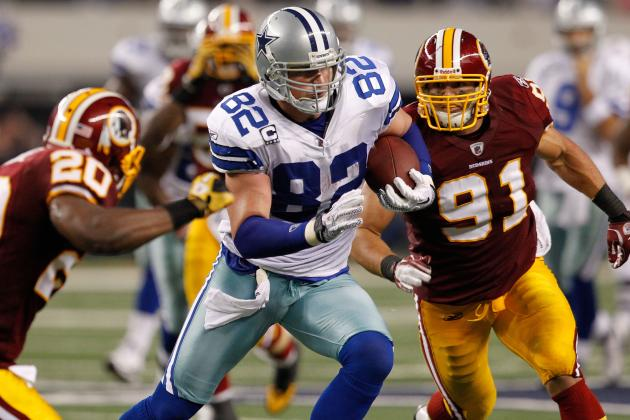 Fantasy Football 2012: Updated Top 30 Tight Ends in Standard-Scoring Legues