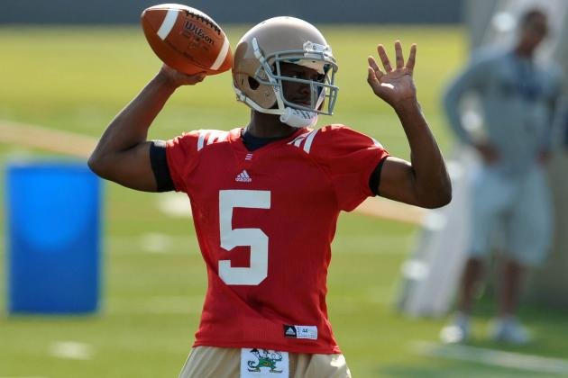 Notre Dame Football: 3 New Irish Starters Worth Watching in Opener