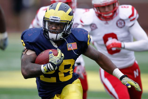 Fitz Toussaint: Updates on Michigan RB's Status Heading into Opener vs. Alabama