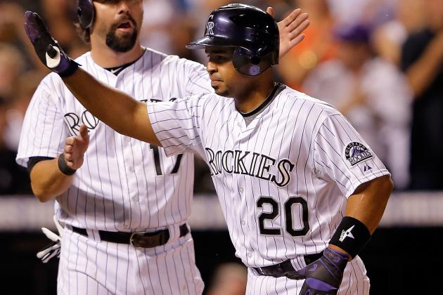 Rockies Rookie Wilin Rosario Hitting Homers at Record Pace