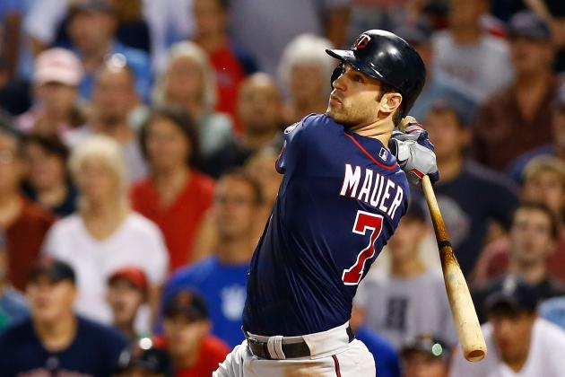 New York Yankees: Twins Put Joe Mauer on Waivers, Should Bombers Be Interested?