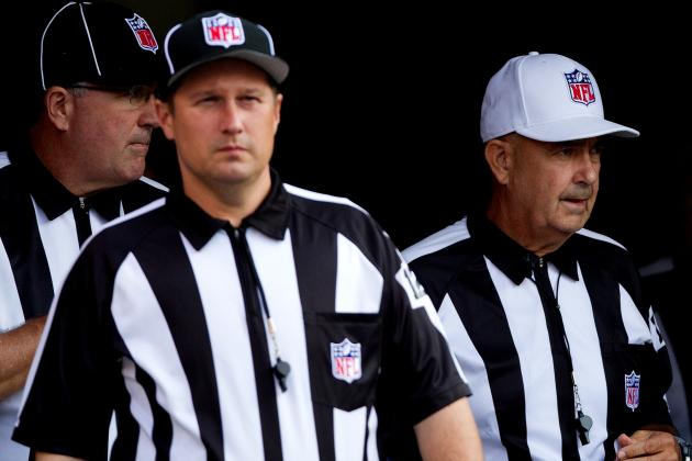 NFL Replacement Refs Set to Officiate Week 1 of Regular Season