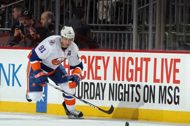 New York Islanders: John Tavares Training Towards the 2012-13 Playoffs