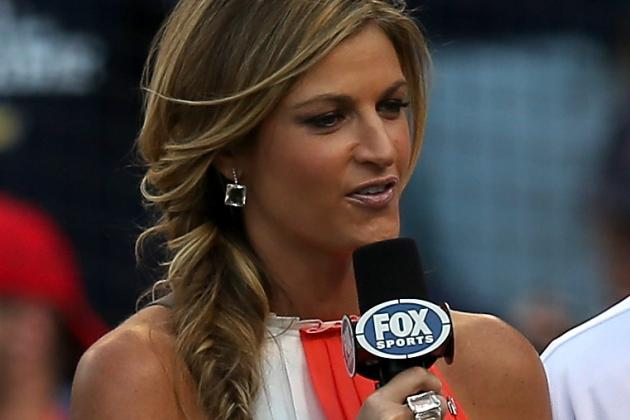 Erin Andrews Features in Bizarre Fox Sports' Gus Johnson Effect Commercial