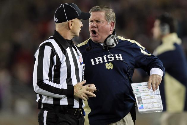 Notre Dame Football: 2012 Promises to Be a Rough Season for Fighting Irish