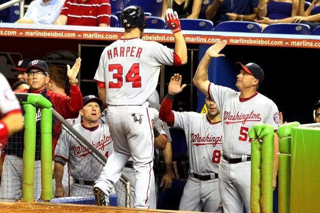 Bryce Harper Homers Twice, Gets Ejected in 8-4 Washington Nationals Win