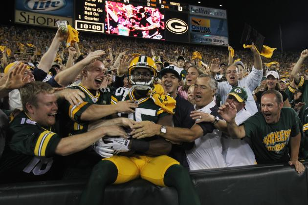 NFL 2012 Week 1: 49ers vs Packers Betting Preview