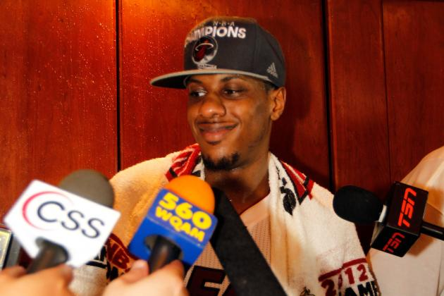 Mario Chalmers Says He's a Top-10 NBA Point Guard