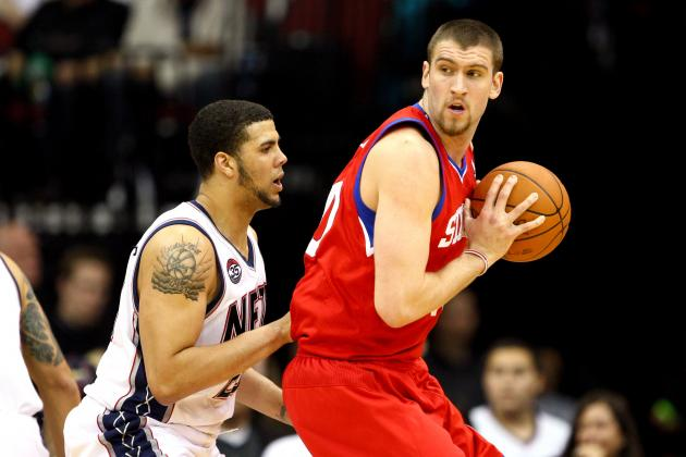 Breaking Down How Spencer Hawes Can Complement Andrew Bynum