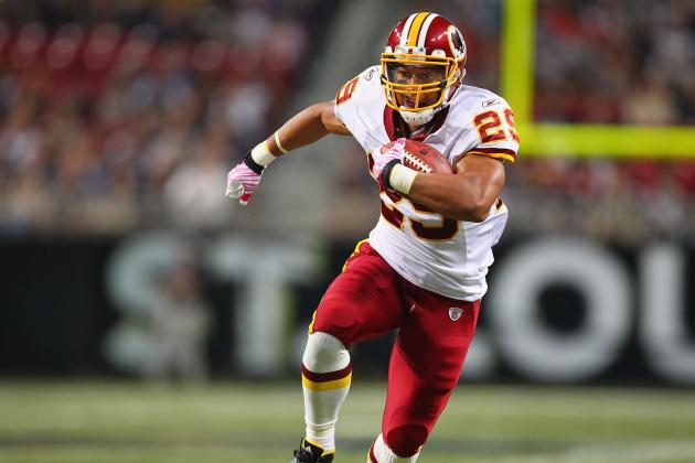 Roy Helu: Projecting Washington Redskins' RB's Fantasy Numbers in 2012