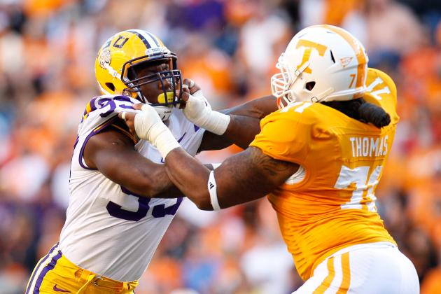 Tennessee Volunteers Football: Dallas Thomas a First Round Tackle?