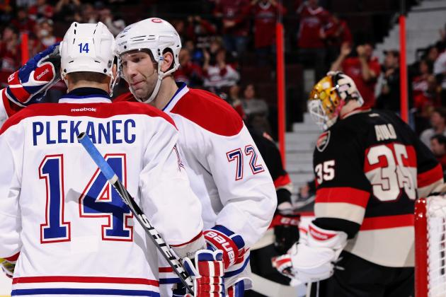 NHL Trade Speculation: How Much Is Plekanec Worth at the Deadline?