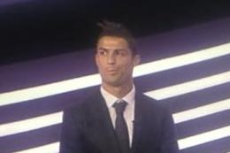 Ronaldo Loses Award, Makes McKayla Maroney Face