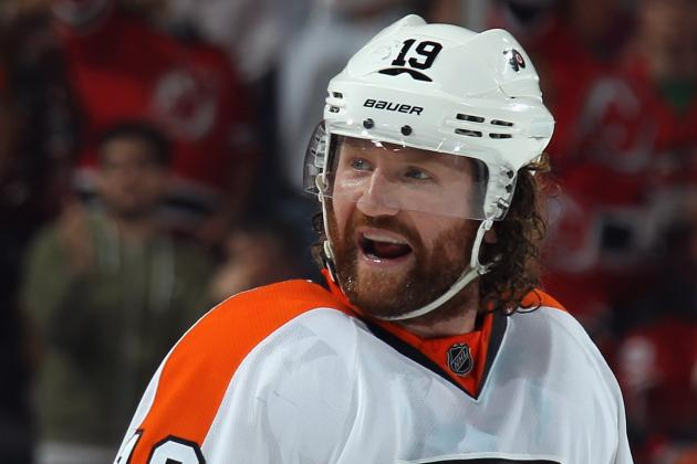 How Many Goals for Scott Hartnell in 2012-13?