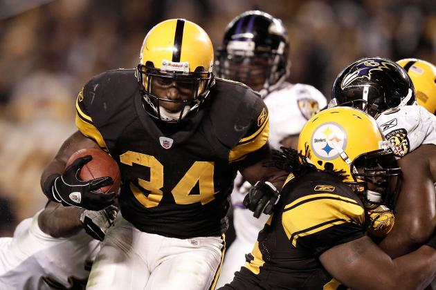 Rashard Mendenhall: Pittsburgh Steelers Run Game Will Struggle in RB's Absence