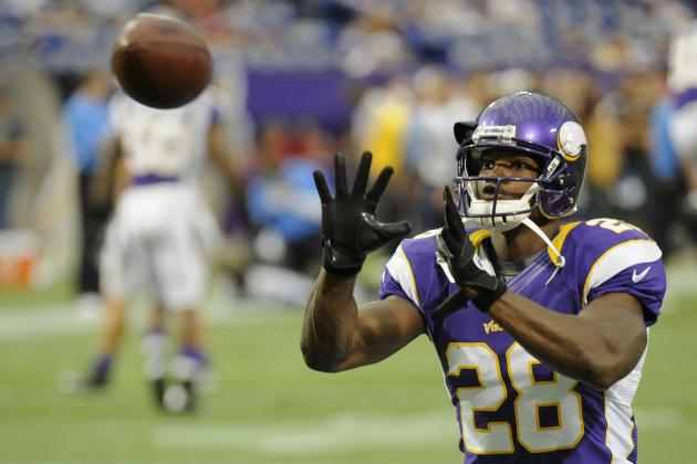 Top 75 RBs: 2012 PPR Fantasy Football Running Back Rankings (Updated 8/30)