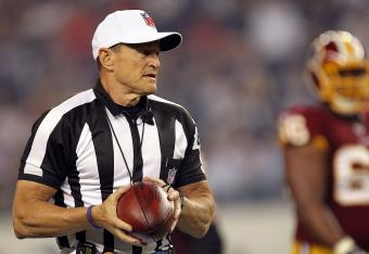 Please come back soon, Ed Hochuli.
