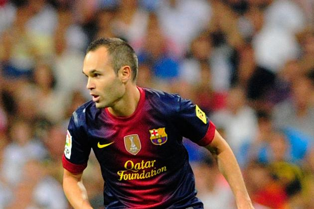 Andres Iniesta's Day in the Sun: Barcelona Midfielder Wins UEFA Player Award