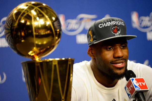 What a Second Title in 2012-2013 Would Mean for LeBron James' Legacy