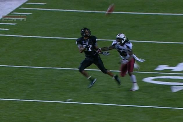 Vanderbilt Loses to South Carolina After Missed Pass Interference Call Late
