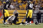 Steelers' Rookie LB Suffers Serious Knee Injury