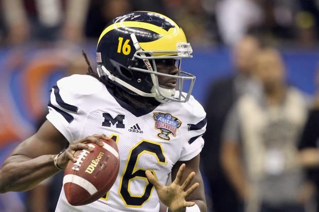 Denard Robinson's Legacy at Stake Against the Mighty Tide