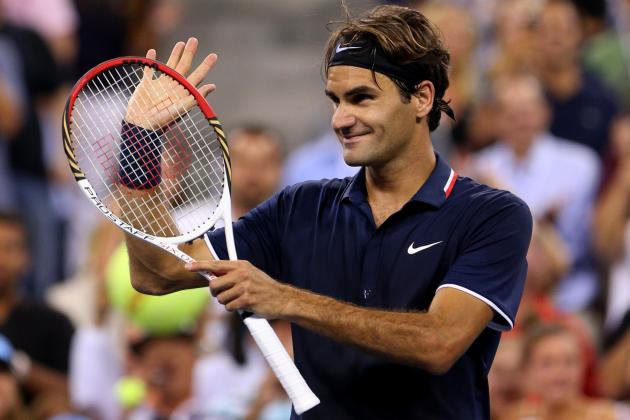 Roger Federer: Recapping Fed-Ex's Week 1 Action at 2012 US Open