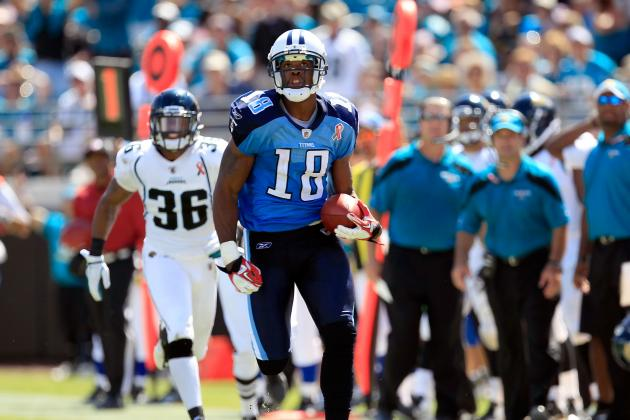 Kenny Britt Lucks Out with 1-Game Suspension: How Well Will He Fare in 2012?