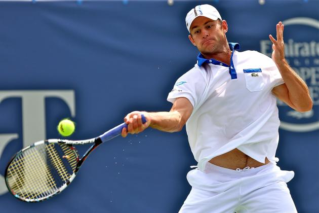US Open Tennis 2012: Andy Roddick Retiring in Perfect Style