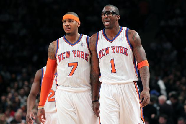 Is Carmelo Anthony or Amar'e Stoudemire Under More Pressure for NY Knicks?