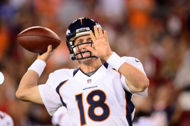 Breaking Down Peyton Manning's Form at Preseason's End