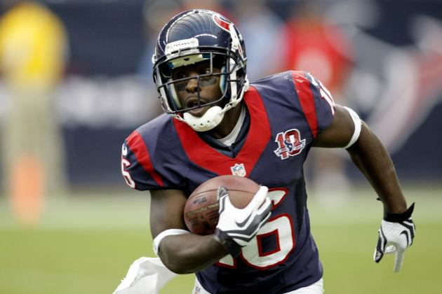 Houston Texans Preseason Week 4 Notebook: Another Holiday for Holliday