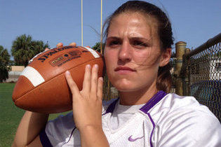 VIDEO: 17-Year-Old Girl Plays QB for Florida High School