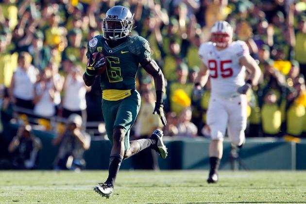 Oregon Football: Breaking Down How Ducks Should Utilize Both Stud RBs in 2012
