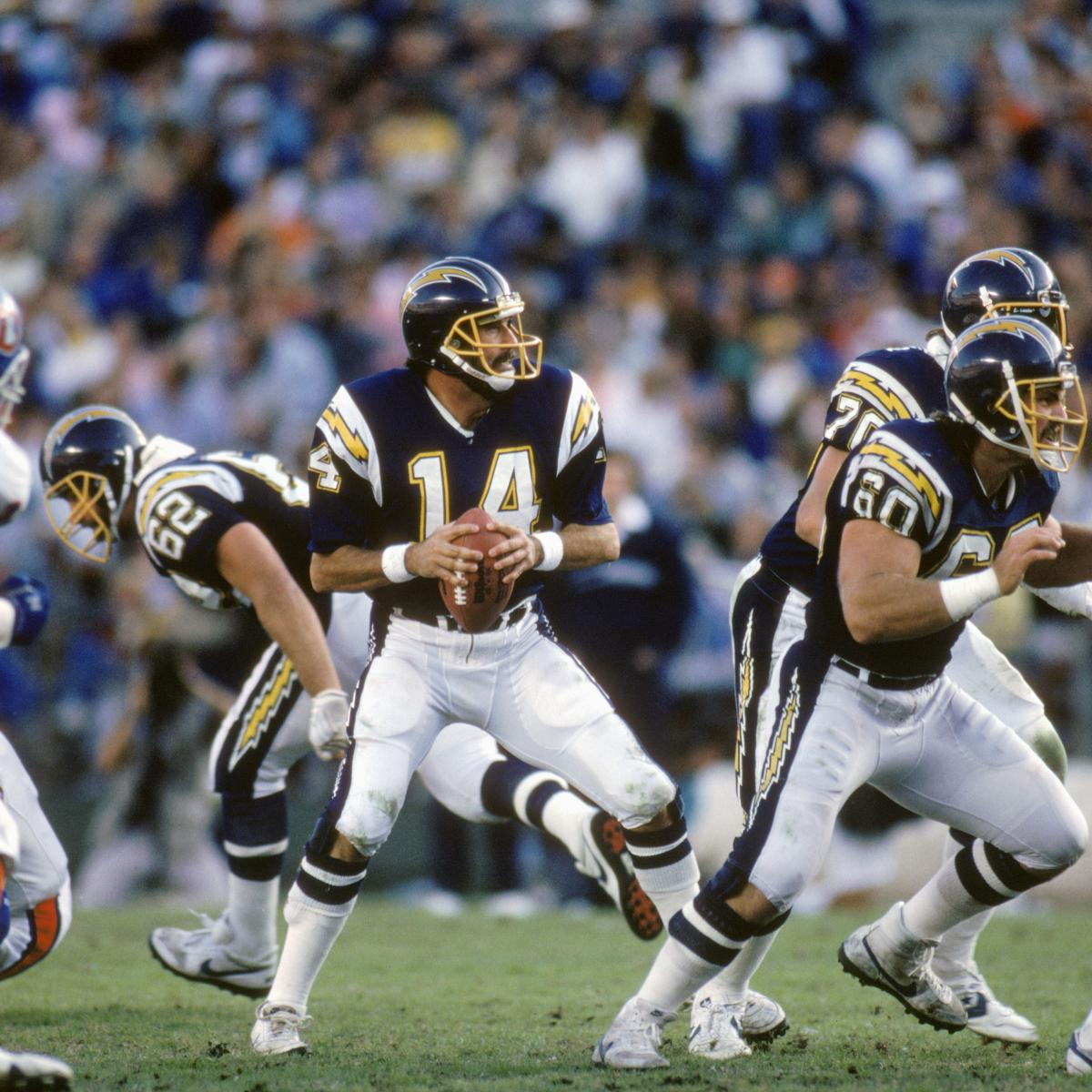 San Diego Chargers Hall Of Fame Players: San Diego Chargers: 5 Best Quarterbacks Of All Time