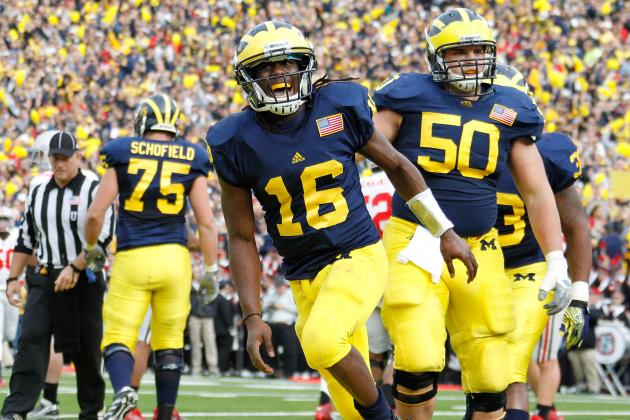 Alabama vs. Michigan: Why Denard Robinson Will Lead the Wolverines to an Upset