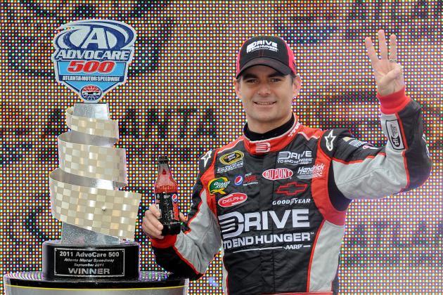 NASCAR at Atlanta: Jeff Has to Put the 'Go' Back in Gordon to Lift Chase Hopes