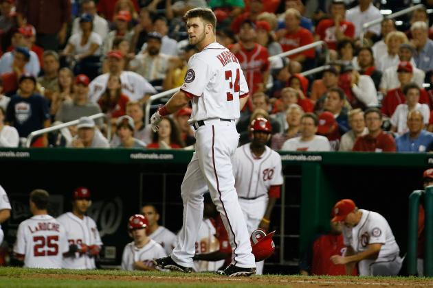 Bryce Harper: Has the Washington Nationals' Phenom Been a Disappointment so Far?