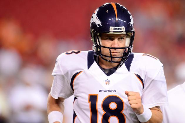 Breaking Down Peyton Manning's Form at Preseason's End