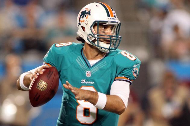 Should the Miami Dolphins Trade Matt Moore?