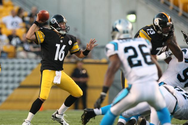 Pittsburgh Steelers Roster Surprises: Charlie Batch In; Trai Essex Out; 4 WRs