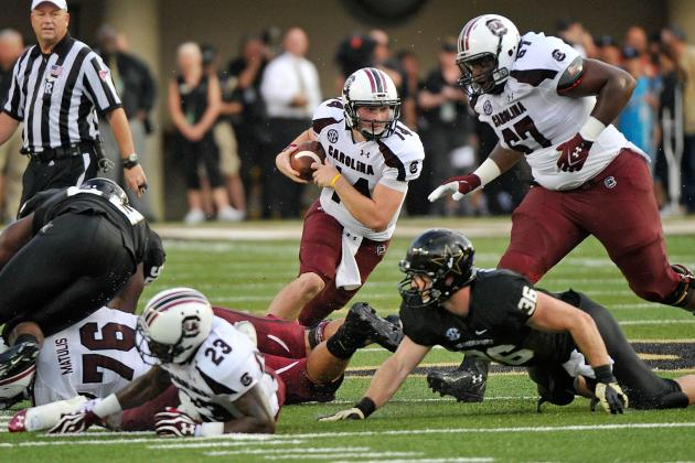 South Carolina Football: Connor Shaw's Gutsy Performance Seals Win