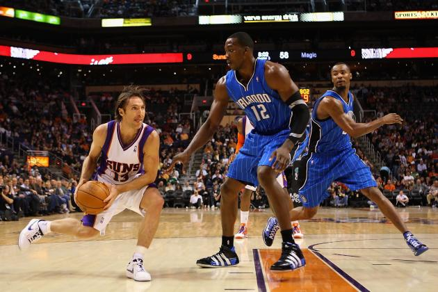 L.A. Lakers: Does Steve Nash's Defense Matter as Long as Howard Has His Back?