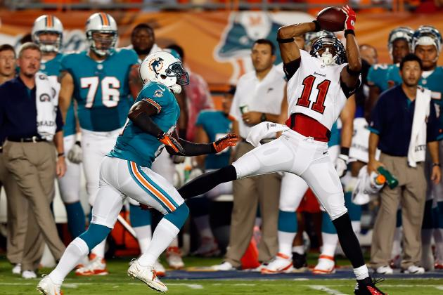 Tampa Bay Buccaneers 75 to 53: WR Tiquan Underwood Surprisingly Released