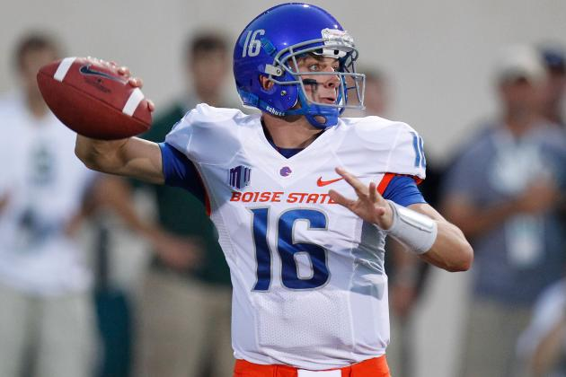 Joe Southwick: Boise State QB Struggles in Opener vs. Michigan State