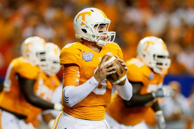 Tyler Bray: Tennessee Volunteers QB Makes Statement in Opener vs. NC State